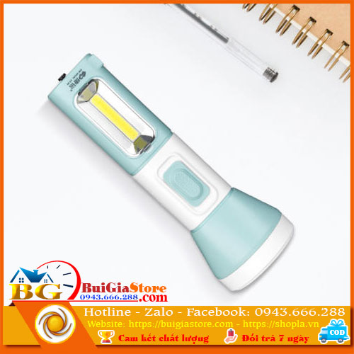 Đèn pin cầm tay đa năng KM-8919C