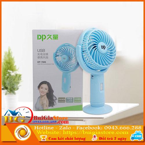 Quạt tích điện cầm tay DP-7606